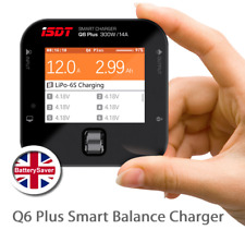 ISDT Q6 Plus - 300W/14A Smart LiPo Balance Charger