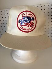 DEADSTOCK ANNCO 1985 ST.LOUIS CARDINALS WORLD SERIES HAT SNAPBACK MLB OFFICIAL