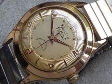 Geneve 25 jewels automatic watch, calibre Felsa 1560, runs but stops for repair.