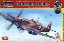 KOVOZAVODY PROSTEJOV KPM-0004 1:72 Supermarine Spitfire Mk.IXc (E.Horbaczewski)