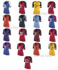 New MLB Nike Women's Logo Fan Shirt