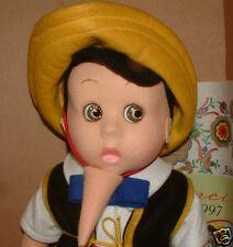 "LENCI DOLL, - Italian, ""Pinocchio"" 18"" (449/499), BEAUTIFUL RARE BOTH DOLLS"