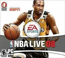 NBA Live 08 Jewel Case (PC, 2010)