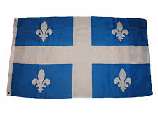 3x5 Quebec Canada Canadian Province Flag 3'x5' Banner Brass Grommets
