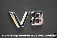 Original Mercedes-Benz V8 Emblem Schriftzug Logo Buchstaben Typenkennzeichen