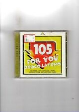 105 FOR YOU DISCO LATINO - CD NUOVO SIGILLATO