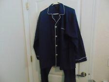 NWOT's Men's Izod Sleepwear 2 Pc Navy Pajama's-XL