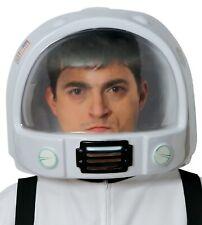 Mens damas astronauta espacio casco TV Película Explorer Fancy Dress Costume Sombrero