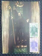 Spain Mk 1965 Europa cept maximum tarjeta Carte maximum card mc cm c3948