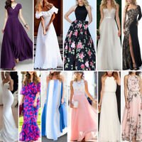 Women's Long  Evening Formal Cocktail Party Ball Gown Bridesmaid Maxi Dress Lot