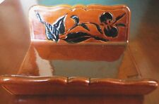 Haeger Pottery 932 Vanity Towel Holder Napkin Envelop 1955-1960s