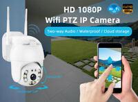 1080P HD IP Wifi  Caméra de Surveillance Sans fil Vision Nuit Sécurité Extérieur