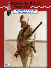 Missouri River Mountain Man, Fur Trapper's Fringed Buckskin Shirt Sewing Pattern