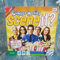 Scene It? Comedy Movies DVD Family Board Game  * 1 counter missing*