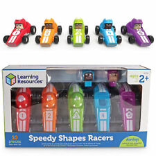 Learning Resources Speedy Shapes Racers 3786