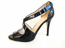 Black Patent Leather Nine West Size 7 4 inches heel Shoes