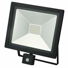 50w LED Foco Jardín Exterior garaje seguridad sensor de Movimiento PIR Ajuste