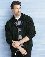 6 Gildan Zip Hooded Sweatshirt Wholesale Bulk Hoodie Lot ok to mix S-XL & Colors