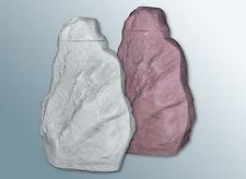 Regentonne Falkenstein / Hinkelstein - granitrot 220 l