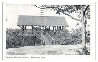 1939 Pavilion, Mt. Wachusett, MA Postcard *5Q(2)2