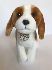 Hallmark My Best Friend Beagle Dog Standing Stuffed Plush 12�