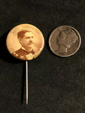 1912 Patriotic Order Sons of America President Candidate John W. German Pin