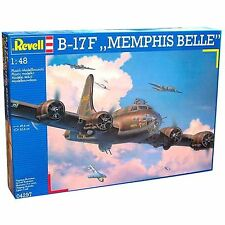 """REVELL - 1:48 Scale B-17F """"MEMPHIS BELLE"""" Plane Plastic Model Kit"""
