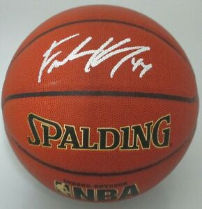Badgers FRANK KAMINSKY Signed Spalding Full Size I/O Basketball AUTO - Hornets