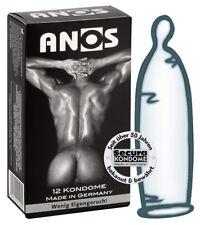 Preservativi Profilattici ANOS Resistenti per uso anale SECURA Condoms 12 pezzi