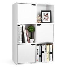 Raumteiler Bücherregal Standregal Aktenregal Aufbewahrung Raumtrenner 6 Fächer
