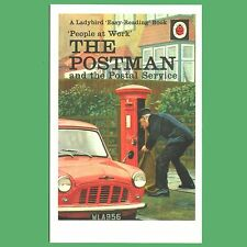 The Postman And The Postal Service - A Ladybird Book Cover Postcard