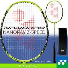 Yonex JP NANORAY Z-SPEED 3UG5 LIME YELLOW NR-ZSP New Badminton Racket Unstring