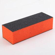 1 PCS Nail Art Acrylic Black Buffer Sanding Block Files Y065-1 NEW