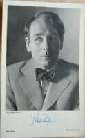 38272 Foto Ross Editore Autografo Ak Film Attore Paul Kemp Del 1940