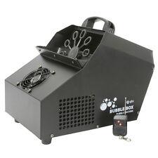 QTX Bubble Box Machine High Output with 3 Fans + 2 x Remotes DJ Disco Kids Party