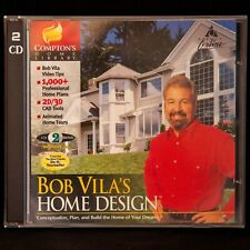 Bob Vila's Home Design PC Software 2D/3D CAD Home Planning Designer Windows 98