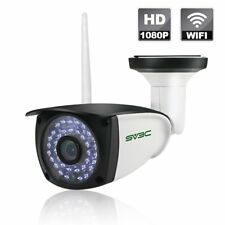 WIFI Camera Outdoor SV3C Wireless Surveillance CCTV 1080P HD Night Vision Bullet