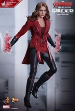 HOT TOYS 1/6 MARVEL AVENGERS MMS357 SCARLET WITCH MOVIE PROMO EDITION FIGURE