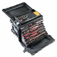 """Pelican 0450 case. 2 - 2"""" drawers and 4 - 1"""" drawers."""