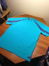 Nike Golf Fit Dry Ss Shirt Aqua Size Xxl 2xl Excellent! Sweet Vented