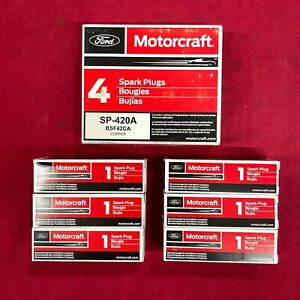 Set of 6: Motorcraft OEM Ford Copper Spark Plugs SP-420A BSF42CA Free Shipping