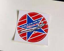More details for laker skytrain sticker vinyl big vintage 1970s 1980s airline advertising promo