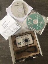 Nikon Coolpix L25 White Camera
