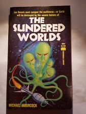 The Sundered Worlds: Michael Moorcock, Paperback Library, 1966, Sci-Fi. E-78