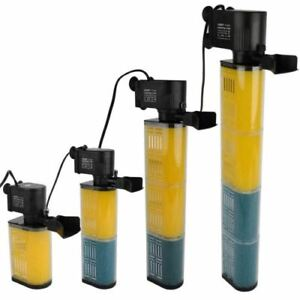 Aquarium Internal Filter Pump Submersible Fish Tank Filtration Pump Tropical