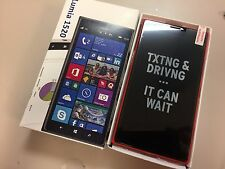 Openbox New Nokia Lumia 1520 - 16GB - RED (AT&T) GSM Unlocked Has Minor Sunspots