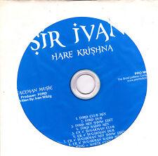 Sir Ivan-Hare Krishna Promo cd maxi single  12 tracks