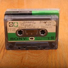 4 Sony C90 90 Minute Cassette Audio Tapes Auto Sensor