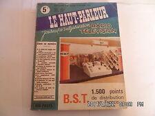 LE HAUT PARLEUR RADIO TELEVISION N°1424 11/10/1973 MESURES ELECTRIQUES    K10