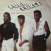 """Full Force(7"""" Vinyl P/S)Alice, I Want You Just For Me!-CBS-A 6640-UK-VG+/VG"""